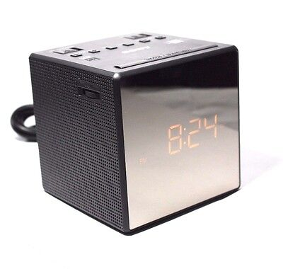 radio alarm clock model icf c1t sony clock radio icf c1t sony icf c1t fm am clock radio black. Black Bedroom Furniture Sets. Home Design Ideas
