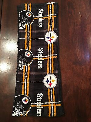 94a612acf39 PITTSBURGH STEELERS BABY Burp Cloth PERSONALIZED   TwO PPTP s NeW ...