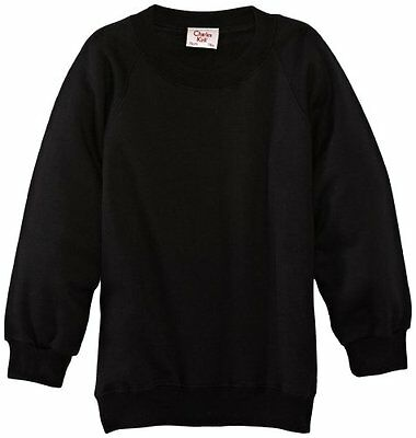 (TG. C38 IN- UK) Nero (Black) Charles Kirk Coolflow - Felpa, colletto tondo, , u
