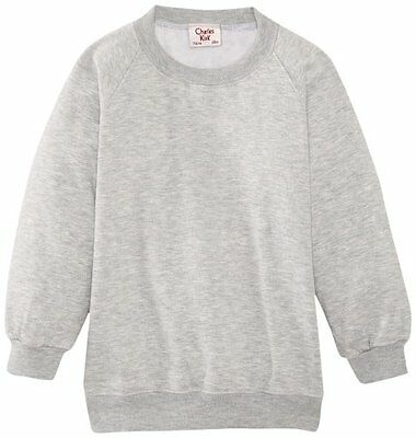 (TG. C34 IN- UK) Grigio (Light Grey) Charles Kirk Coolflow - Felpa, colletto ton