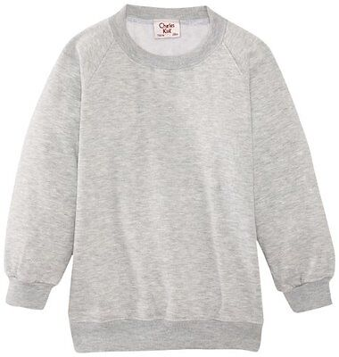 (TG. C38 IN- UK) Grigio (Light Grey) Charles Kirk Coolflow - Felpa, colletto ton