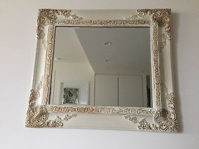French Empire Style Bevelled Edge Mirror , size 82 x 72 cm ( included frame)