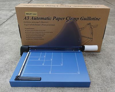 Automatic Paper Clamp Guillotine A3 -  460mm