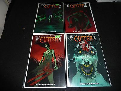 CUTTER Image Top Cow Lot of 4 #1 2 3 4 NM