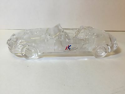 M/C (Magic Cristal) by Nachtmann Crystal BMW Paperweight