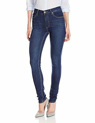 (TG. 44 IT (31W/32L)) Blu (Credit Dark Blue) Cheap Monday Second Skin, Jeans da