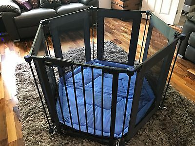 Lindam Safe & Secure Fabric Play Pen - Excellent condition