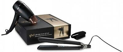 ghd Ultimate Travel ghd Platinum With ghd Flight Travel Hair Dryer Tool Gift Set