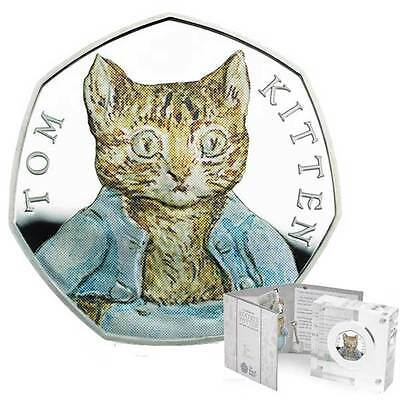 Royal Mint Tom Kitten™ 2017 UK 50p Silver Proof Coin