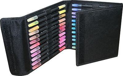Watercolour Dual tip Pens & Caddy  Pack of 36 Brush & Fine DOA 851310