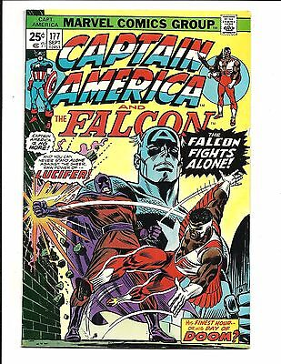 Captain America # 177 (Cents Issue, Sept 1974), Fn+