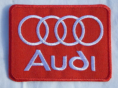 ECUSSON PATCH THERMOCOLLANT aufnaher toppa AUDI rs a 1 2 3 4 5 6 7 qs 80 100