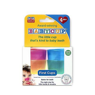 Babycup Baby and Toddler First Cup (Multi) weaning cups for healthy sipping