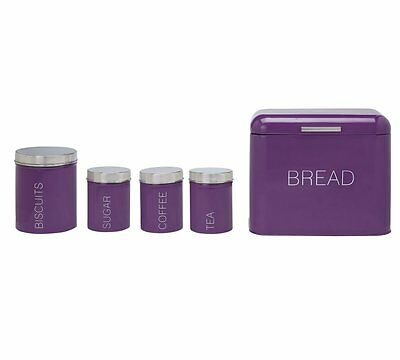 purple kitchen storage set 5 storage set 163 1 50 picclick uk 4455