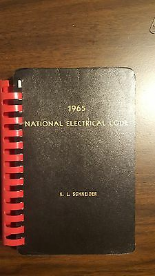 Vintage 1965 National Electrical Code Book