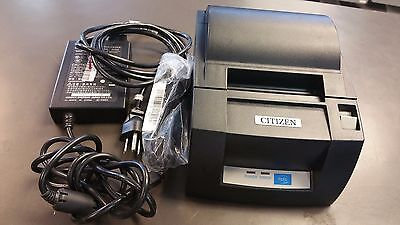Citizen CT-S310A USB Thermal Receipt Printer POS w/ Power Supply USB Cable Test