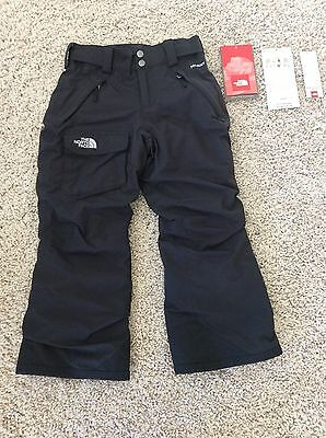NWOT North Face Boys Girls Hyvent Freedom Ski Snow Winter Pants Pant Small 7 8