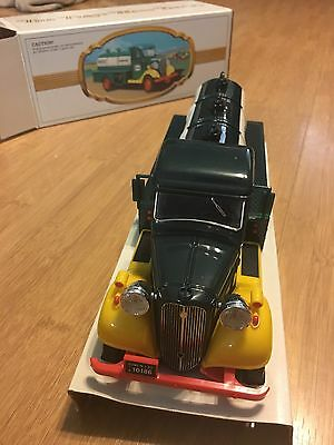 The First Hess Truck Toy Bank new in original box 1982