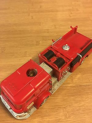 1970 & 1971 Hess Fire Truck Toy * DAMAGED*