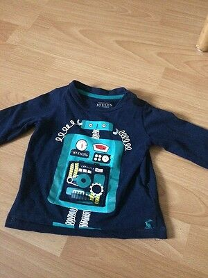 Baby Boys Joules Top 9-12 Months