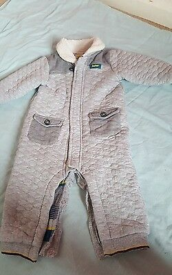 boys ted baker all in one coat 9-12 months