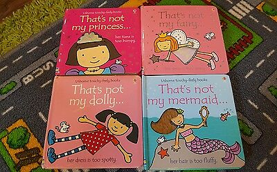 4 That's Not My books