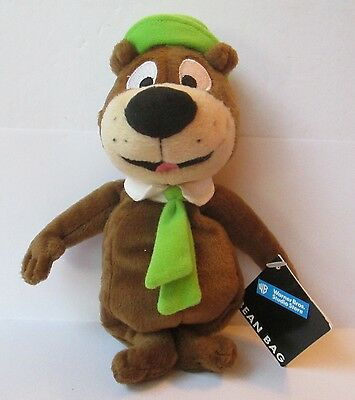 "YOGI BEAR 8"" PLUSH DOLL W/ TAG, Warner Bros. Studio Store, Bean Bag"