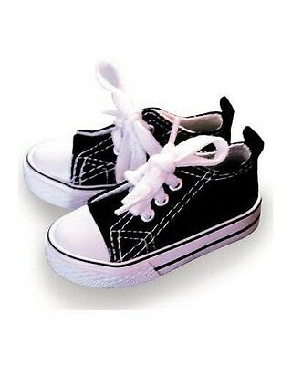 BJD 1/3 Shoes Sneakers MS For SD Ball Jointed Doll Black and White