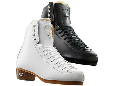 New Riedell Skating Boots 435/ 43 Bronze Star Single Double Jumps Stifness 80