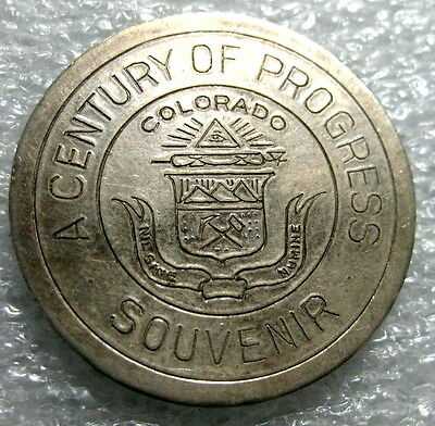 1833 Century of Progress So Called Dollar Uncirculated