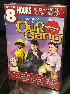 The Best of Our Gang - Vols. 1 & 2 (DVD) 2-Disc Set! 8 Hours Classic Gang Comedy