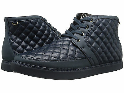 STACY ADAMS Tiptop Quilted Chukka Boots Navy (Size 10) Men's Casual Fashion