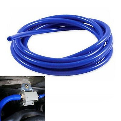 "6mm/1/4""ID Full Silicone Fuel/Air Vacuum Hose/Line/Pipe/Tube 1M 3.3ft Blue New"