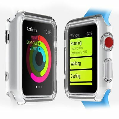 General to  all For Apple Watch Series 3 / 2 /1   38/42mm Clear TPU Case