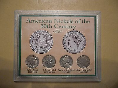 American Nickels of the 20th Century