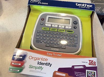 Brother P-Touch PT-D200 Label Thermal Printer New In Box