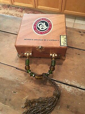 Handmade Colorado by Don Lino Authentic Lined Cigar Box Purse