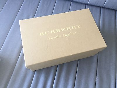 Authentic Burberry Shoe Box