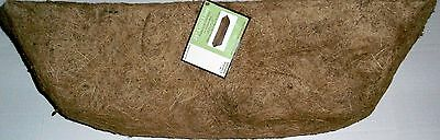 """24"""" Coco Liner  Replacement Coco Liner for Window Boxes  23.5"""" x 8"""" x 6"""""""