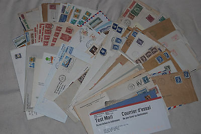 Mostly Canada Huge lot of 100+ cover, Postage Due, OHMS, RCAF, meters, FDC, etc.