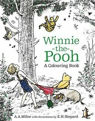 Winnie-the-Pooh: A Colouring Book (Colouring Books) (Paperback)