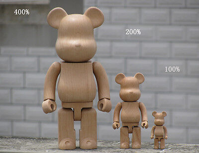 """28cm//11/""""  Wooden toy KAWS//hand-made//collection"""