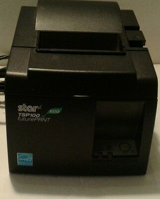 Star TSP100 ECO Future PRNT Receipt Printer - USED with power cord and USB cord