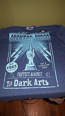 Loot Crate Wizard Defence Against the Dark Arts Counter Curse Shirt large