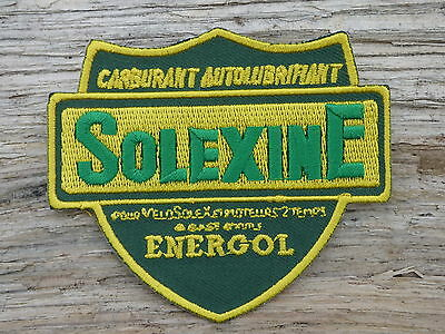 A128 ECUSSON PATCH THERMOCOLLANT aufnaher toppa SOLEXINE velosolex solex