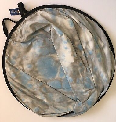 Lastolite Collapsible Splatter Background Stone Grey Blue 1.5x1.8