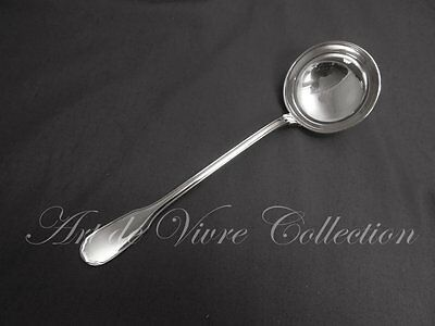 Christofle VERSAILLES Louche à Potage, Large Soup Ladle Brilliant Luster 29cm