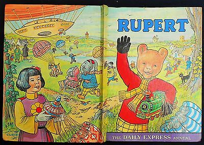 SUPERB 1976 RUPERT BEAR ANNUAL, PRICE UNCLIPPED 90p and UNSCRIBED