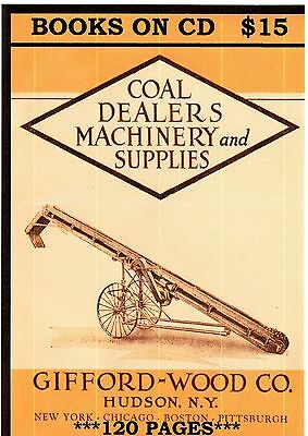 CD 1923 RETAIL COAL DEALERS MACHINERY CATALOG  FREE SHIPPING On3 On30 Sn3 HOn3