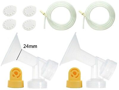 Breastshield 24mm Pump Parts Use With Medela Pump Feeding BPA Free